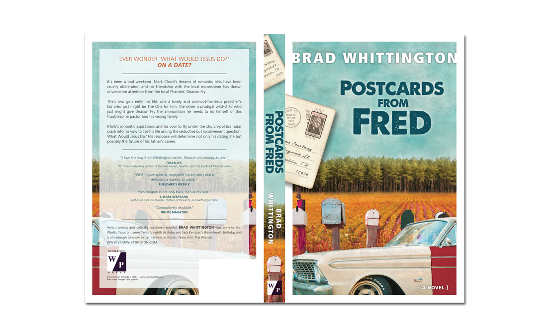 Postcards from Fred cover