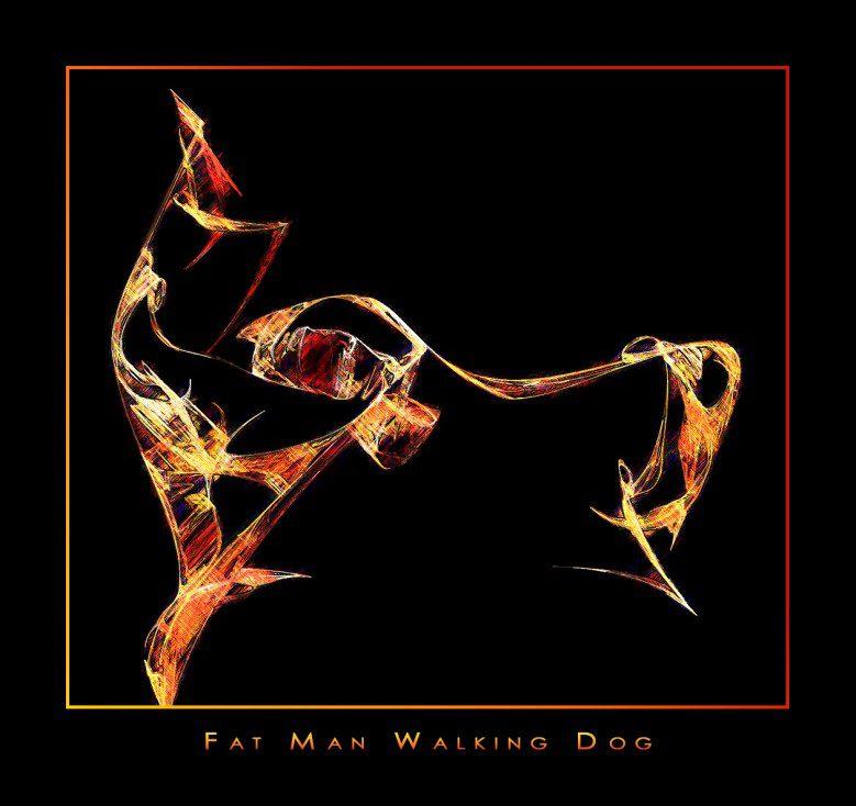Fat-Man-Walking-Dog