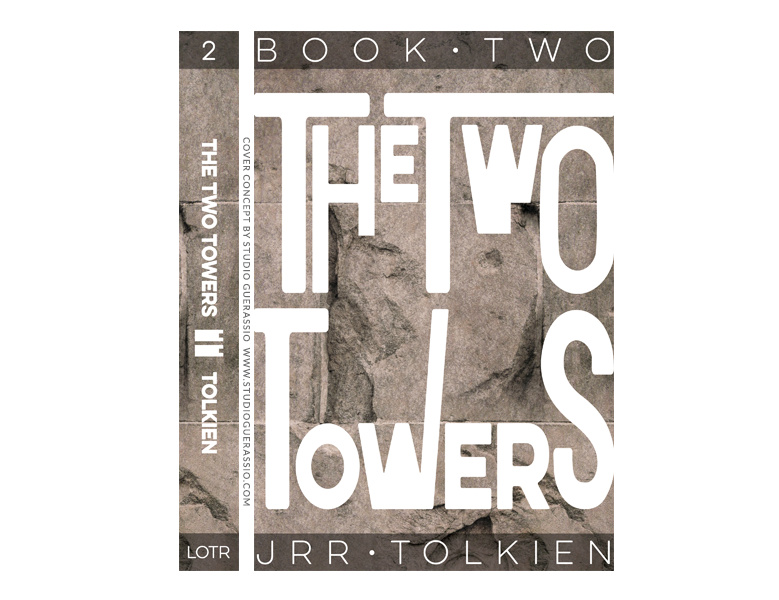 The Two Towers flat cover