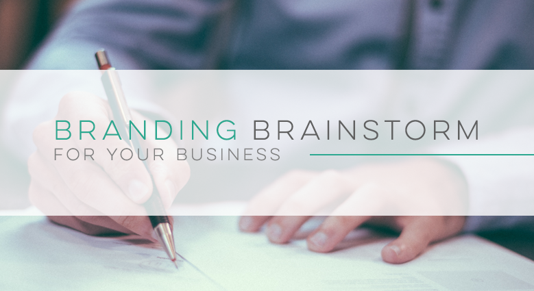 This free Branding Brainstorm worksheet will help you dive deep into your business' core message, and what makes your brand unique.