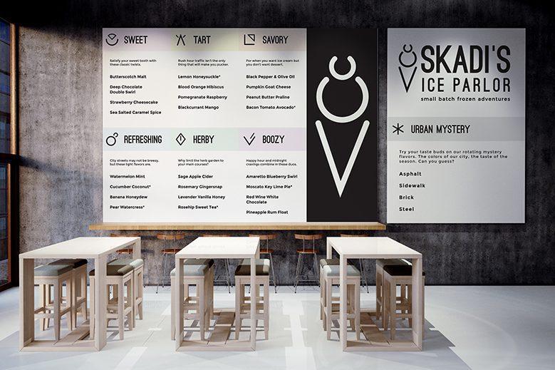 Skadi's Ice Parlor - Interior