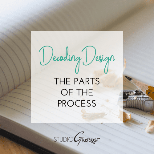 Decoding Design: The Parts of the Process