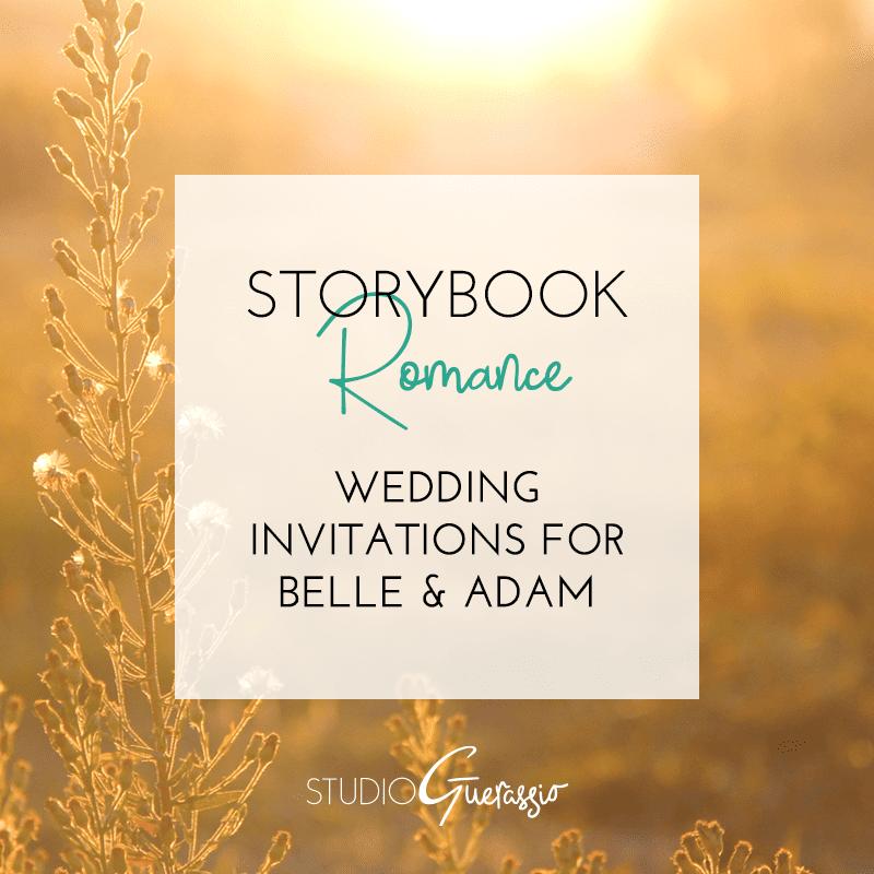 Storybook Romance: Belle & Adam