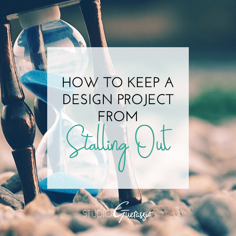 How to Keep a Design Project from Stalling Out